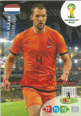 2014 - Panini FIFA World Cup Brazil Adrenalyn XL - N° 254 - Ron VLAAR (Pays-Bas)