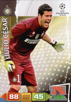 2011-12 - Panini Champions League Cards - N° 106 - Julio CESAR (Inter Milan)