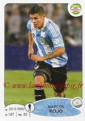 2014 - Panini Road to FIFA World Cup Brazil Stickers - N° 059 - Marcos ROJO (Argentine)