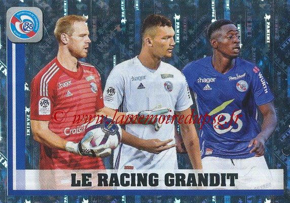2018-19 - Panini Ligue 1 Stickers - N° 475 - Le Racing Grandit (Strasbourg)