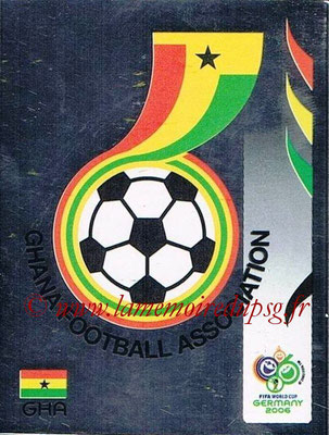 2006 - Panini FIFA World Cup Germany Stickers - N° 311 - Logo Ghana