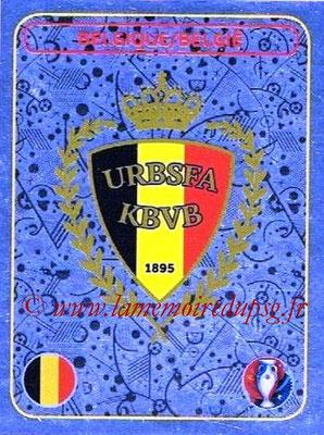 Panini Euro 2016 Stickers - N° 458 - Logo Belgique