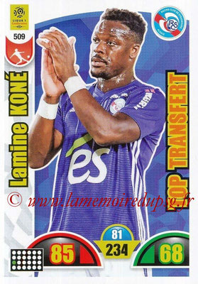 2018-19 - Panini Adrenalyn XL Ligue 1 - N° 509 - Lamine KONE (Strasbourg) (Top Transfert)