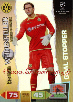 2011-12 - Panini Champions League Cards - N° 281 - Roman WEIDENFELLER (Borussia Dortmund) (Goal Stopper)