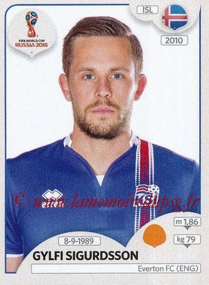 2018 - Panini FIFA World Cup Russia Stickers - N° 304 - Gylfi SIGURDSSON (Islande)