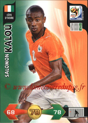 2010 - Panini FIFA World Cup South Africa Adrenalyn XL - N° 070 - Salomon KALOU (Côte d'Ivoire)