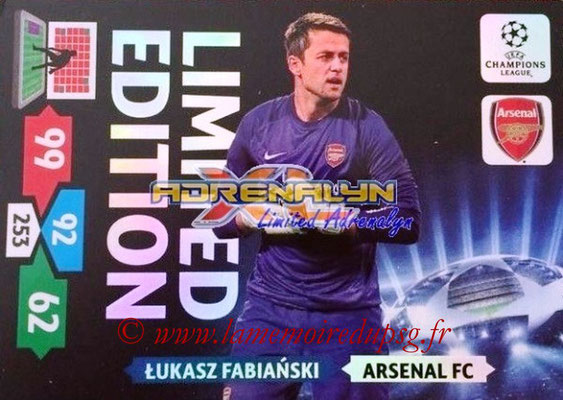 2013-14 - Adrenalyn XL champions League N° LE03 - Lukasz FABIANSKI (Arsenal FC) (Limited Edition)