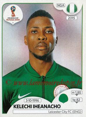 2018 - Panini FIFA World Cup Russia Stickers - N° 351 - Kelechi IHEANACHO (Nigeria)