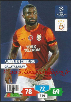 2013-14 - Adrenalyn XL champions League N° 137 - Aurélien CHEDJOU (Galatasaray AS)