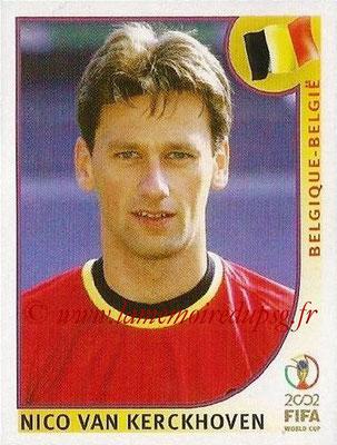 2002 - Panini FIFA World Cup Stickers - N° 557 - Nico VAN KERCKHOVEN (Belgique)