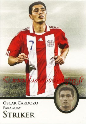 2013 - Futera World Football Unique - N° 067 - Oscar CARDOZO (Paraguay) (Striker)