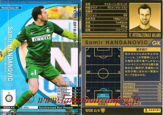 2012-13 - WCCF - N° WGK4 - Samir HANDANOVIC (Inter Milan) (World Class GK)