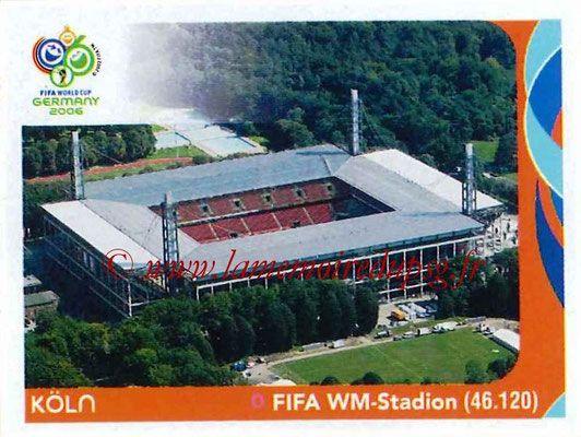 2006 - Panini FIFA World Cup Germany Stickers - N° 011 - Köln - FIFA WM-Stadion