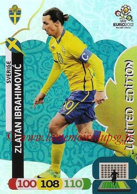 Panini Euro 2012 Cards Adrenalyn XL - N° LE49 - Zlatan IBRAHIMOVIC (Suède) (Limited Edition)