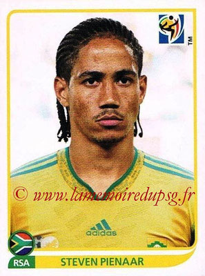 2010 - Panini FIFA World Cup South Africa Stickers - N° 043 - Steven PIENAAR (Afrique du Sud)