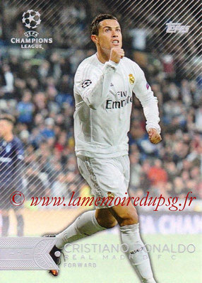 2015-16 - Topps UEFA Champions League Showcase Soccer - N° 015 - Cristiano RONALDO (Real Madrid CF)