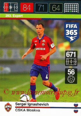 2015-16 - Panini Adrenalyn XL FIFA 365 - N° 283 - Sergei IGNASHEVICH (CSKA Moscou) (Expert)