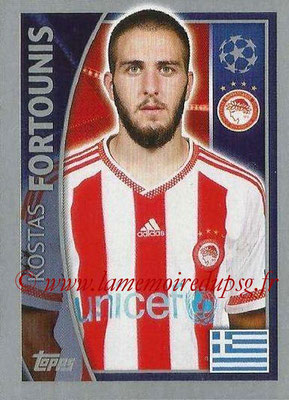2015-16 - Topps UEFA Champions League Stickers - N° 416 - Kostas FORTOUNIS(Olympiacos FC)