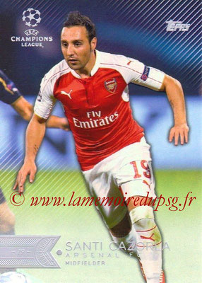 2015-16 - Topps UEFA Champions League Showcase Soccer - N° 140 - Santi Cazorla (Arsenal FC)