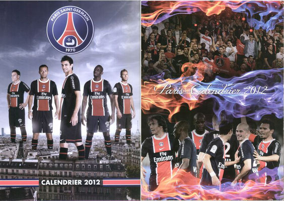Calendriers PSG 2012
