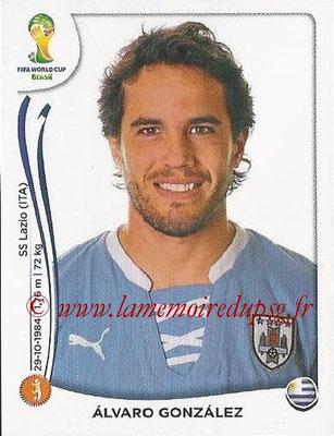 2014 - Panini FIFA World Cup Brazil Stickers - N° 271 - Alvaro GONZALEZ (Uruguay)