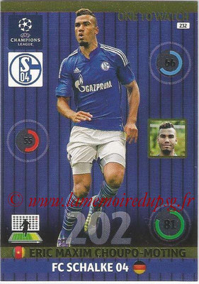 2014-15 - Adrenalyn XL champions League N° 232 - Eric Maxim CHOUPO-MOTING ( FC Schalke 04) (One to watch)