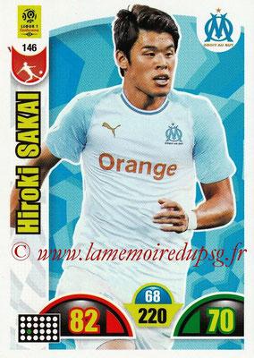 2018-19 - Panini Adrenalyn XL Ligue 1 - N° 146 - Hiroki SAKAI (Marseille)