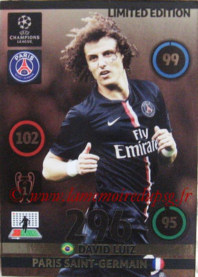 N° XXX - David LUIZ (Limited edition)