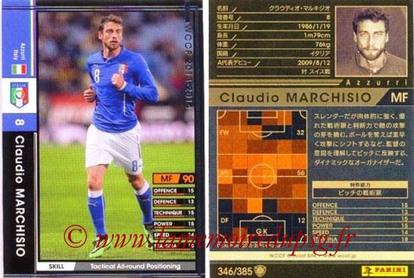 2013-14 - WCCF - N° 346 - Claudio MARCHISIO (Italie)