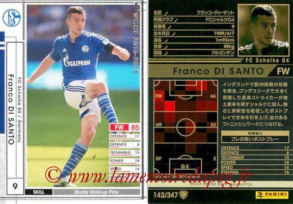 2015-16 - Panini WCCF - N° 143 - Eric Maxim CHOUPO-MOTING (FC Schalke 04)