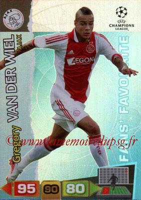 2011-12 - Panini Champions League Cards - N° 296 - Grégory VAN DER WIEL (Ajax) (Fans' Favourite)