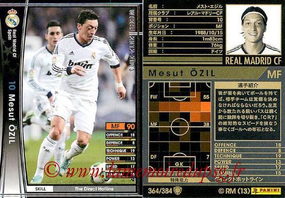2012-13 - WCCF - N° 364 - Mesut OZIL (Real Madrid CF)