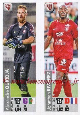 2018-19 - Panini Ligue 1 Stickers - N° 541 - Alexandre OUKIDJA + Jonathan RIVIEREZ (FC Metz)