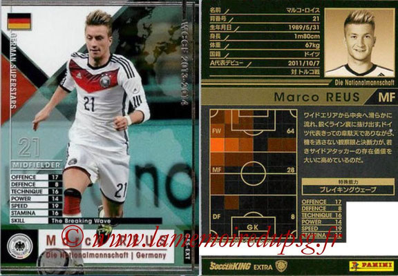 2013-14 - WCCF - N° GES-EXT - Marco REUS (Allemagne) (Germain Superstars) (Extra)
