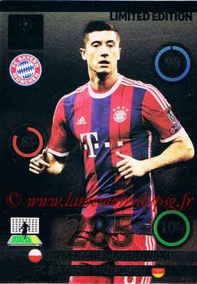 2014-15 - Adrenalyn XL champions League Update edition N° LEU-RL - Robert LEWANDOWSKI (Bayern Munich) (Limited Edition)
