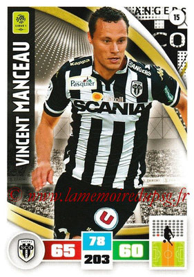 2016-17 - Panini Adrenalyn XL Ligue 1 - N° 015 - Vincent MANCEAU (Angers)