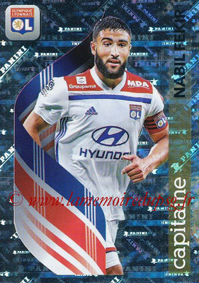 2018-19 - Panini Ligue 1 Stickers - N° 197 - Nabil FEKIR (Lyon) (Capitaine)