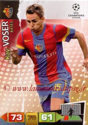 2011-12 - Panini Champions League Cards - N° 039 - Kay VOSER (FC Bâle)