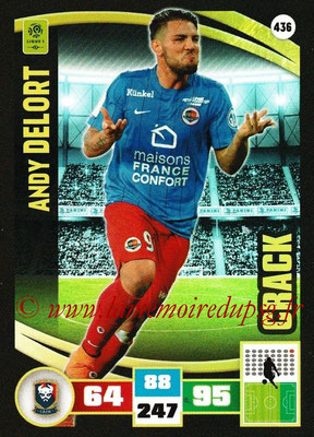 2016-17 - Panini Adrenalyn XL Ligue 1 - N° 436 - Andy DELORT (Caen) (Crack)