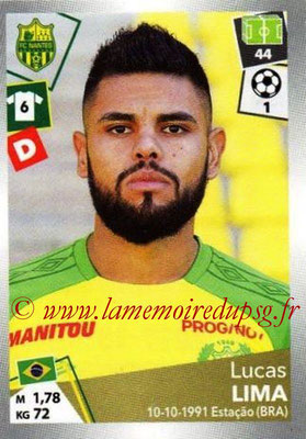 2017-18 - Panini Ligue 1 Stickers - N° 318 - Lucas LIMA (Nantes)