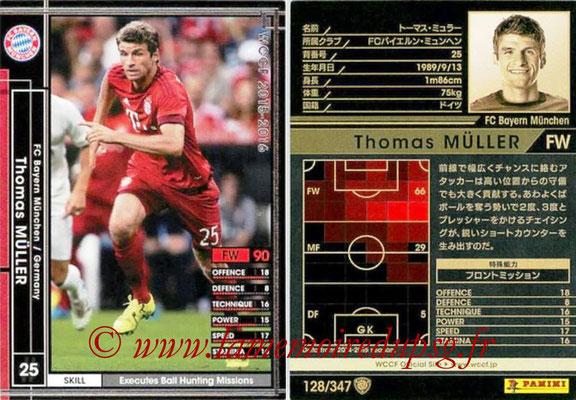 2015-16 - Panini WCCF - N° 128 - Thomas MÛLLER (FC Bayern Munich)