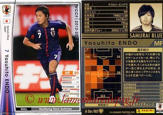 2012-13 - WCCF - N° A56 - Yasuhito ENDO (Japon)