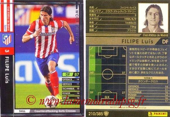 2013-14 - WCCF - N° 210 - Filipe LUIS (Atletico Madrid)