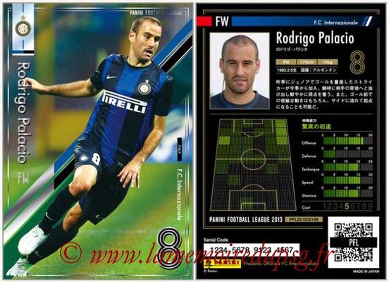 Panini Football League 2013 - PFL02 - N° 023 - Rodrigo Palacio ( F.C. Internazionale )