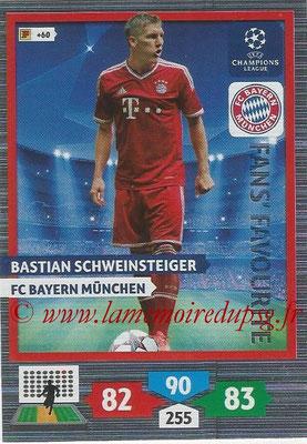2013-14 - Adrenalyn XL champions League N° 296 - Bastian SCHWEINSTEIGER (FC Bayern de Munich) (Fans' Favourite)