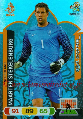 Panini Euro 2012 Cards Adrenalyn XL - N° 234 - Maarten STEKELENBURG (Pays-Bas) (Goal Stopper)