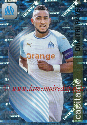 2018-19 - Panini Ligue 1 Stickers - N° 222 - Dimitri PAYET (Marseille) (Capitaine)