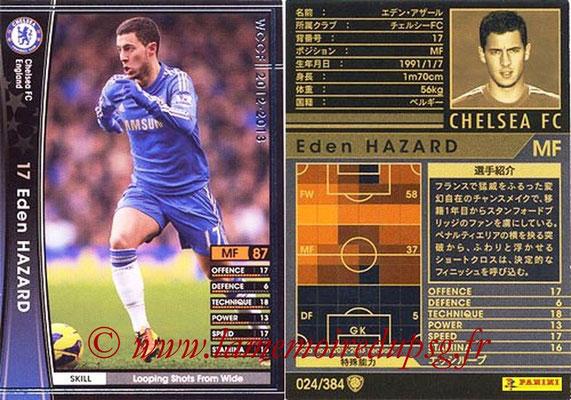 2012-13 - WCCF - N° 024 - Eden HAZARD (Chelsea FC)