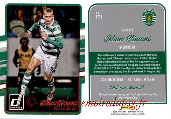 2016 - Panini Donruss Cards - N° 171 - Islam SLIMANI (Sporting CP)
