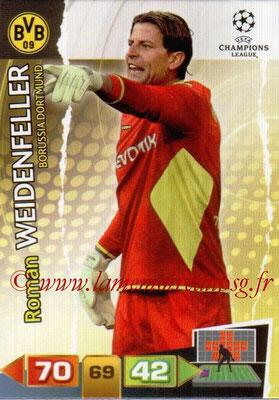 2011-12 - Panini Champions League Cards - N° 068 - Roman WEIDENFELLER (Borussia Dortmund)